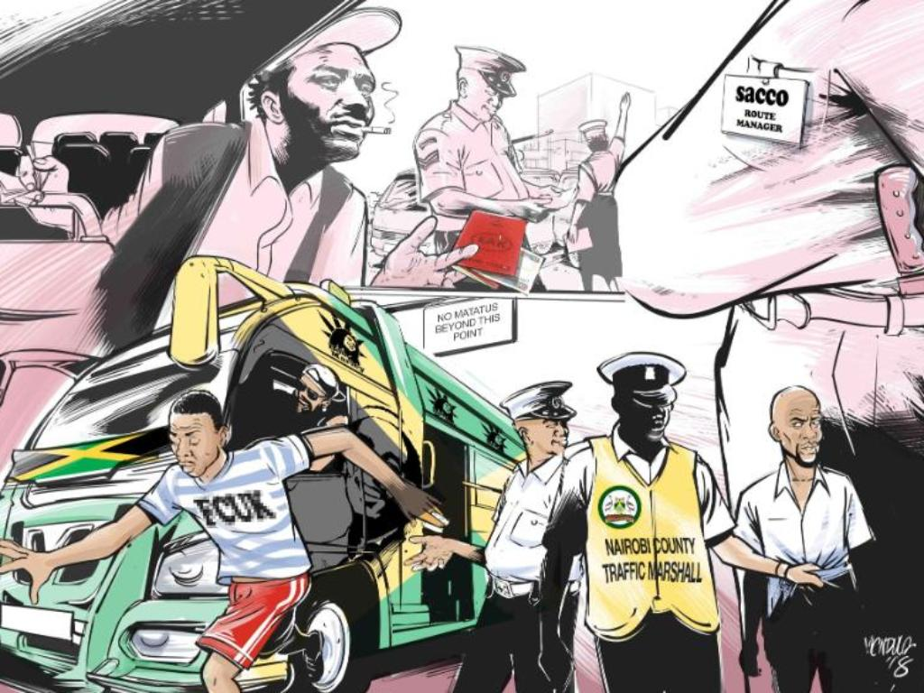 How Nairobi's Matatus Defied the Will of Kenya's Cashless Policy Makers